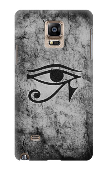 Printed Sun Eye Of Horus Samsung Note 4 Case