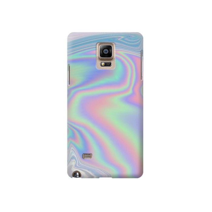 Printed Pastel Holographic Photo Printed Samsung Note 4 Case