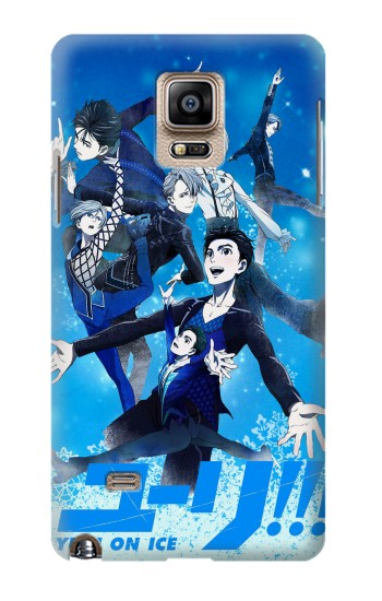 Printed Yuri On Ice Samsung Note 4 Case