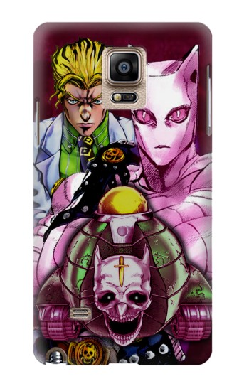 Printed Jojo Bizarre Adventure Kira Yoshikage Killer Queen Samsung Note 4 Case