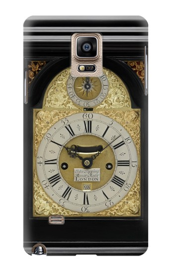 Printed Antique Bracket Clock Samsung Note 4 Case