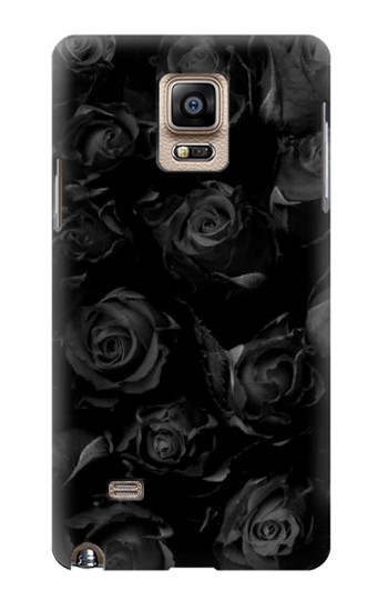 Printed Black Roses Samsung Note 4 Case