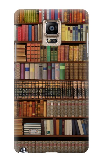 Printed Bookshelf Samsung Note 4 Case