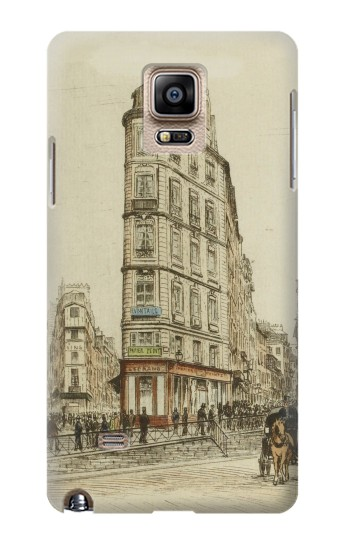Printed Boulevards of Paris Samsung Note 4 Case
