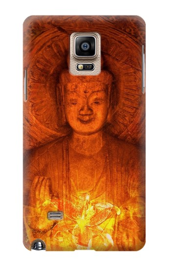 Printed Buddha Spiritual Holy Lights Samsung Note 4 Case