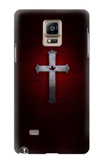 Printed Christian Cross Samsung Note 4 Case