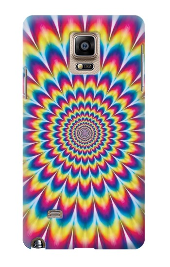 Printed Colorful Psychedelic Samsung Note 4 Case