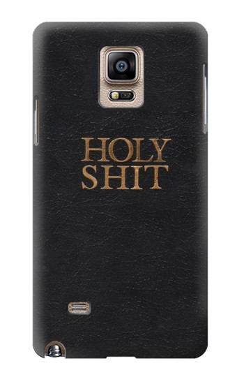 Printed Funny Holy Shit Samsung Note 4 Case