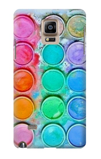 Printed Watercolor Mixing Samsung Note 4 Case