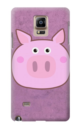 Printed Pig Cartoon Samsung Note 4 Case