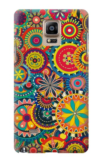 Printed Colorful Pattern Samsung Note 4 Case