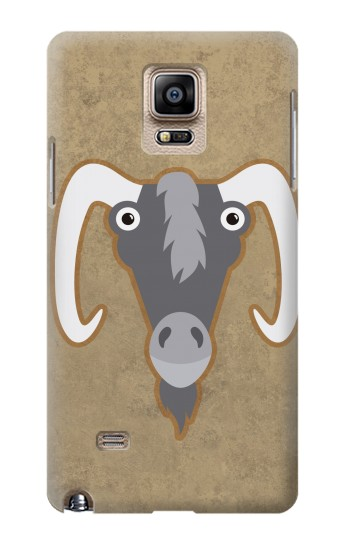 Printed Goat Cartoon Samsung Note 4 Case