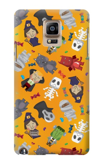 Printed Cute Halloween Cartoon Pattern Samsung Note 4 Case