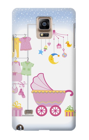 Printed Baby Supplies Samsung Note 4 Case