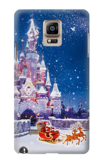 Printed Santa Xmas Castle Samsung Note 4 Case
