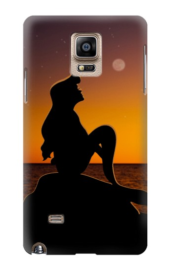 Printed Mermaid Sunset Samsung Note 4 Case