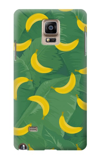 Printed Banana Fruit Pattern Samsung Note 4 Case