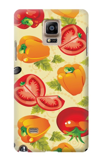 Printed Seamless Food Vegetable Samsung Note 4 Case
