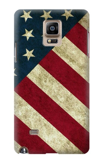 Printed US National Flag Samsung Note 4 Case