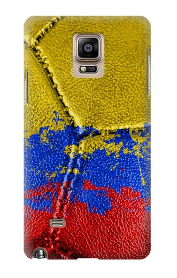 Printed Colombia Flag Vintage Football 2018 Samsung Note 4 Case