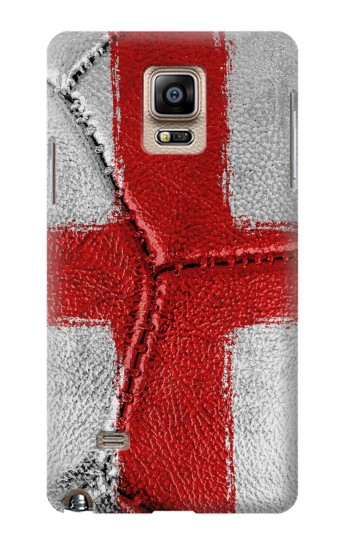 Printed England Flag Vintage Football 2018 Samsung Note 4 Case