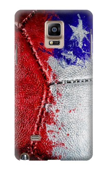 Printed Chile Flag Vintage Football 2018 Samsung Note 4 Case