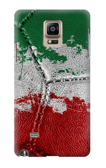 Printed Italy Flag Vintage Football 2018 Samsung Note 4 Case