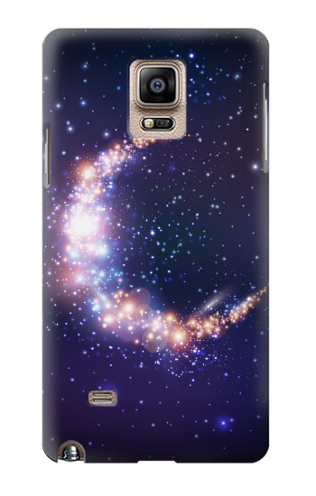 Printed Crescent Moon Galaxy Samsung Note 4 Case