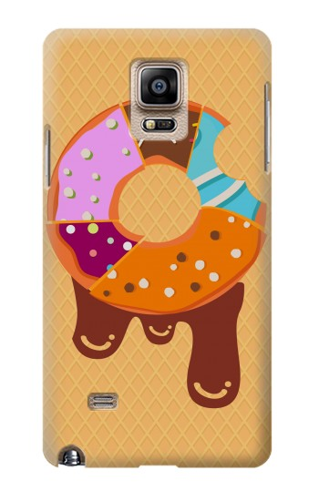 Printed Yummy Donut Samsung Note 4 Case