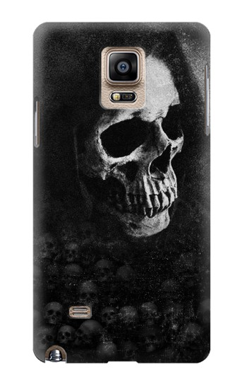 Printed Death Skull Samsung Note 4 Case