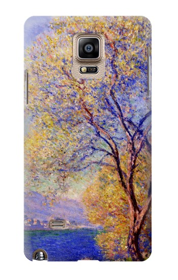 Printed Claude Monet Antibes Seen from the Salis Gardens Samsung Note 4 Case