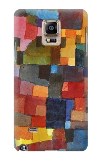Printed Paul Klee Raumarchitekturen Samsung Note 4 Case