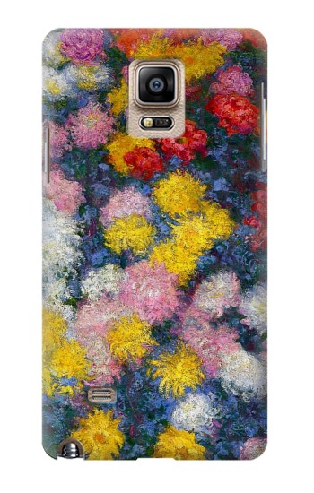 Printed Claude Monet Chrysanthemums Samsung Note 4 Case