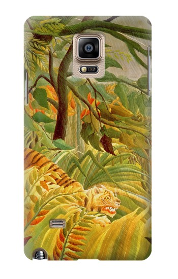 Printed Henri Rousseau Tiger in a Tropical Storm Samsung Note 4 Case