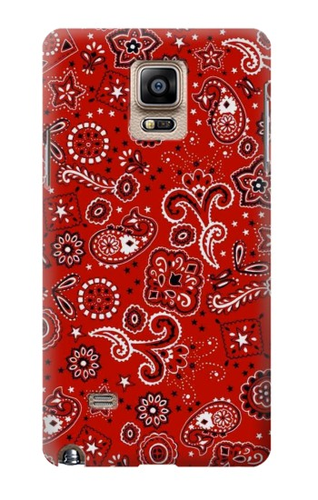 Printed Red Bandana Samsung Note 4 Case