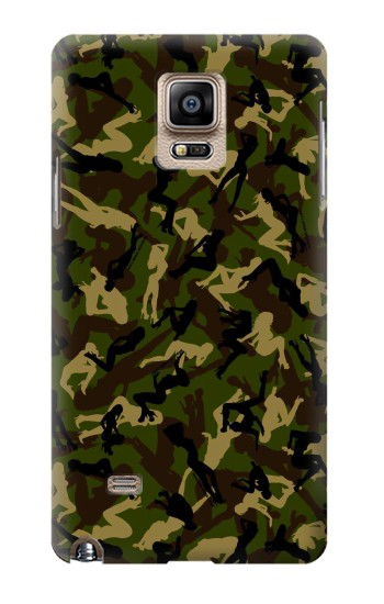 Printed Sexy Girls Camo Samsung Note 4 Case