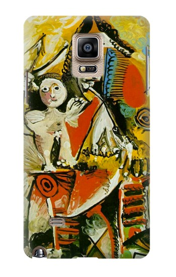 Printed Picasso Painting Cubism Samsung Note 4 Case
