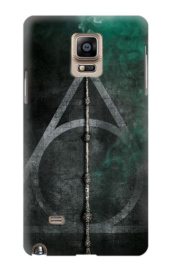 Printed Harry Potter Magic Wand Samsung Note 4 Case