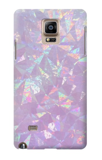 Printed Iridescent Holographic Photo Printed Samsung Note 4 Case
