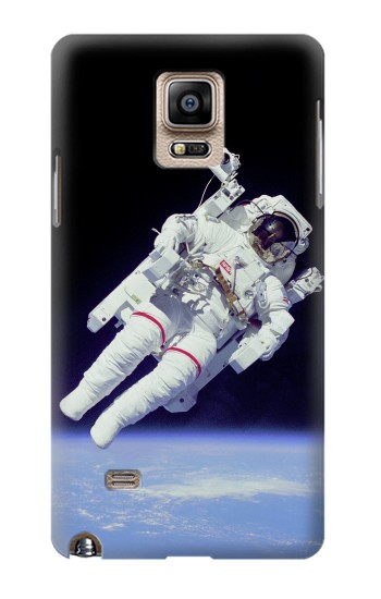 Printed Astronaut Samsung Note 4 Case