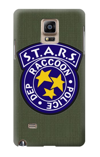 Printed Resident Evil Star Badge Chris Outfit Samsung Note 4 Case