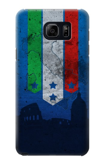 Printed Italy Football Flag Samsung Note 5 Case