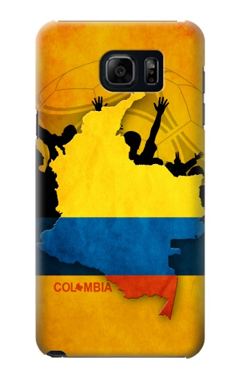 Printed Colombia Football Flag Samsung Note 5 Case