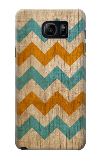 Printed Vintage Wood Chevron Samsung Note 5 Case