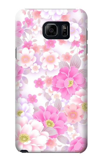 Printed Pink Sweet Flower Flora Samsung Note 5 Case