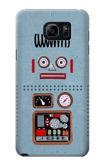 Printed Retro Robot Toy Samsung Note 5 Case