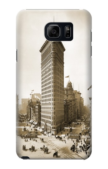Printed Old New York Flatiron Building Samsung Note 5 Case