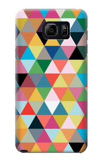 Printed Triangles Vibrant Colors Samsung Note 5 Case