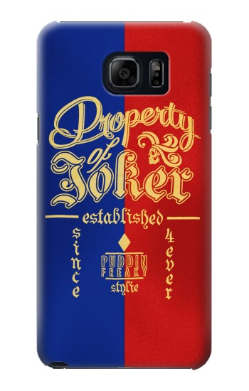 Printed Property of Joker Puddin Freaky Style Samsung Note 5 Case