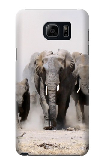 Printed African Elephant Samsung Note 5 Case